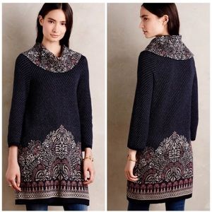 Tops - Anthro Moth imperial garden tunic sweater